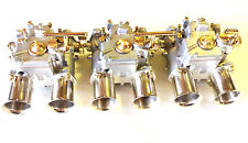 Triple 3x 45 DCOE FAJS suit WEBER carburettor NEW carby package Holden Chrysler