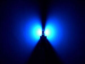 LED Bulb T5 SMD Blue Lights Clog all Glass Panel Canbus 12V 1,2W