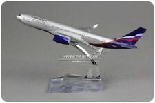 Solid AEROFLOT AIRBUS A330 Passenger Airplane Plane Aircraft Metal Diecast Model
