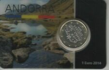 Andorra 2014 : 1 euro coincard.