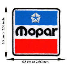 Mopar Dodge Car Racing Race Automobile Rider Logo Applique Iron on Patch Sew