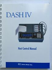 Astro-Med DASH IV Chart Recorder Host Control Manual P/N 22834-055