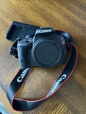 New listing Canon Eos Rebel Sl1 Body & Charger Only - Black