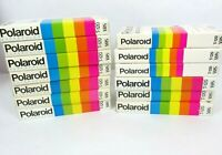 Lot of 13 Polaroid SuperColor Pre-Recorded Used Sold as Blanks Untested VHS Tape