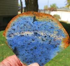 BLUE DUMORTIERITE QUARTZ JASPER -155 Gram,Rock Slab,Gemstone,Cabbing,lapidary