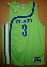 ATLANTA HAWKS SHAREEF ABDUR-RAHIM Green Size 48 AUTHENTIC NBA Basketball JERSEY