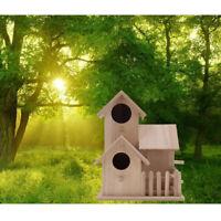 Bird House Outdoor Garden Patio Wooden Bird House Garden Wooden Birdhouse