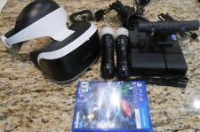 **CLEAN** Sony PlayStation VR PS4 Headset Processing Unit Camera and Remotes
