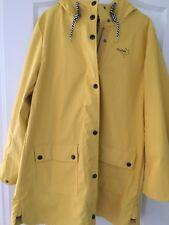 NEU Tom Tailor Mantel Regenmantel Regenjacke Damen gelb Größe L