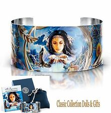 ROBIN KONI 'CATCHING DREAMS' NATIVE AMERICAN INSPIRED-LTD ED CUFF BRACELET-NEW