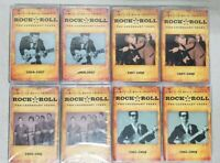 Lot Of 8 Time-Life Rock & Roll The Legendary Years Cassette Tapes - 4 Sealed