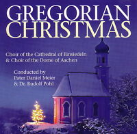 CD Gregorian Christmas von Choir Of The Cathedral Of Einsiedeln and other