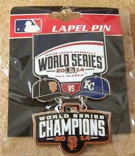 2014 Royals SF San Francisco Giants Champions World Series dangle pin dangling