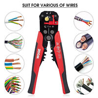WGGE 014 Self-Adjusting Insulation Wire Stripper/cutter/crimper tool 8""