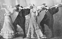 Antique Victorian Dancers Photo 583 Oddleys Strange & Bizarre