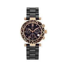 GC Ladies Watch X43011M2S Diver Chic Chronograph Swiss Ceramic Rose Gold