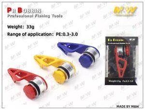 M&W PR Bobbin Professional Fishing Tool 33g  PE0.3~3.0