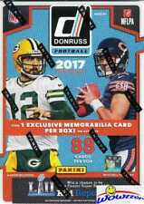 2017 Donruss Football EXCLUSIVE Factory Sealed Blaster Box-RC MEMORABILIA Card!