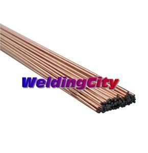 "WeldingCity® 5-Lb ER70S-2 Mild Steel TIG Welding Rod 1/16""x36"" | US Seller Fast"