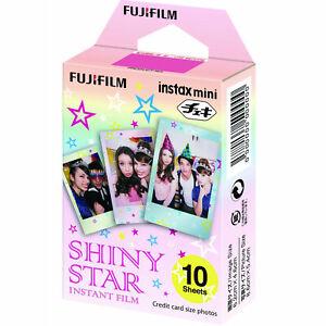 Fujifilm Instax Mini SHINY STAR Film (10 Shots)