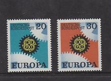 WEST GERMANY MNH STAMP DEUTSCHE BUNDESPOST 1967 EUROPA  SG 1438-1439