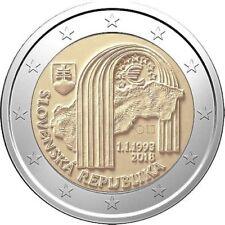Slowakije 2018 - 25 jaar Republiek - 2 euro CC - UNC