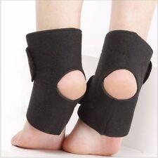 2pcs/lot Ankle support Black Adjustable Ankle Foot Ankle Support Elastic Brace