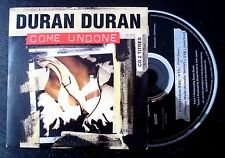 Duran Duran Come Undone 1993 French 2-track CD Cardsleeve