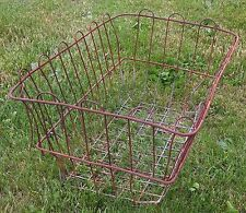 Antique Vintage Primitive Wire Basket