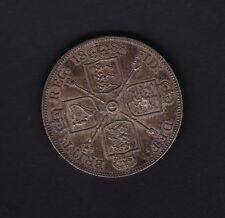 1888 Great Britain UK Victoria Double Florin Silver Coin