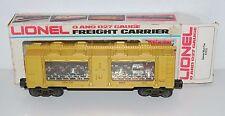 Lionel Trains 6-7515 Denver Silver bullion Mint Car O / 27 gauge 1981 lightGold
