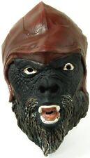 Adult Mens ATTAR 3/4 Vinyl Mask Planet of the Apes Accessory Monkey Gorilla 4060