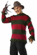 FREDDY KRUEGER DELUXE SWEATER ADULT HALLOWEEN COSTUME SIZE STANDARD