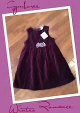 Nwt Vintage Gymboree WINTER ROMANCE Dress Size 2 3 2t 3t Years