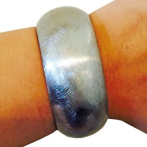 LAUREN Silver Bangle Bracelet Hides Fitbit and Other Fitness Activity Trackers