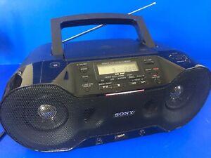 Sony CD/USB/DAB Radio/Bluetooth Model ZS-RS70BTB Personal Audio System Boombox