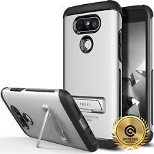 OBLIQ Skyline Advance Case Dual Layer Protection Real Metal Kickstand for LG G5