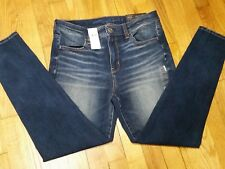 American Eagle Hi Rise Jegging Jeans Size 10 Short Dark Wash The Dream Jean NWT