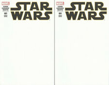Star Wars (2015) 1 Blank Variant Marvel Comics movie sold out HTF 1st print x2