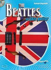 The Beatles for Jazz Guitar Guitar Sheet Music, CD Instrumental Album