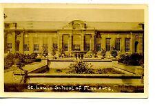 St Louis School of Fine Arts Building-Missouri-RPPC-Real Photo Vintage Postcard