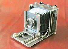 """Linhof Super Technika 9x12cm 4x5"""" mit Schneider Symmar 135mm modernes Rückteil"""