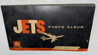 Vintage 1956 TOPPS TCG JETS PLANES 115 Trading Cards w/Photo Album free shipping