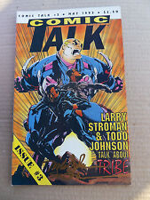 Comic Talk 3  . Stroman / Johnson / Talk About Tribe - Buffalo B. 1993 - FN / VF