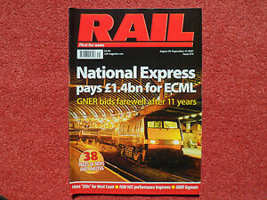 RAIL Issue 573 - Class 55 profile + GBRf Gypsum business + Heidi Mottram