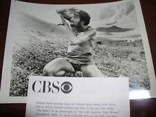 "RICHARD HARRIS CBS PHOTO THE MOVIE ""THE BIBLE"" B&W WITH PRESS INFORMATION SHEET"