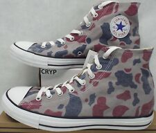 New Mens 10 Converse Chuck Taylor CT Hi Phaeton Grey Camo Shoes 136830C $60