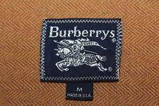 BURBERRY Men's M Prorsum Brown Herringbone Vintage Made in USA Shirt