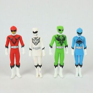 Doubutsu Super Sentai Zyuohger Action Figure Lot of 4 Power Ranger Bandai 2015