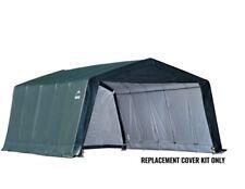 ShelterLogic Replacement Cover Kit 12x20x8 21.5oz Pvc 131113 90516 805128 Green